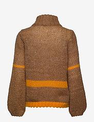 Just Female - Dolly high neck knit - turtlenecks - nature combo - 2