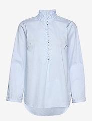 Just Female - Aurora blouse - långärmade blusar - xenon blue - 0