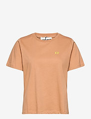 Just Female - Aijan tee - t-shirts - latte - 0