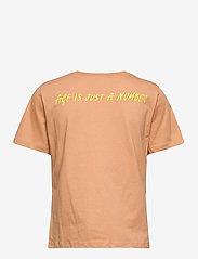 Just Female - Aijan tee - t-shirt & tops - latte - 1