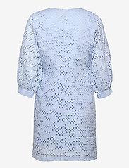 Just Female - Avador wrap dress - sommerkjoler - chambray blue - 1