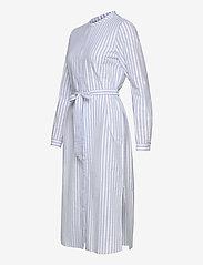 Just Female - Payton long shirt - midi dresses - chambray stripe - 2
