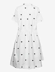 Just Female - Freja dress - midiklänningar - off white - 1