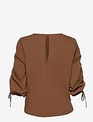 Just Female - Brenda blouse - långärmade blusar - emperador - 2