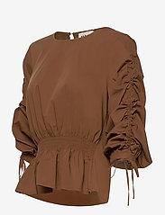 Just Female - Brenda blouse - långärmade blusar - emperador - 3