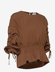 Just Female - Brenda blouse - långärmade blusar - emperador - 4