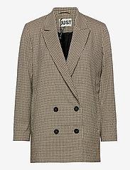 Just Female - Kelly blazer - oversized blazers - kelly check - 1