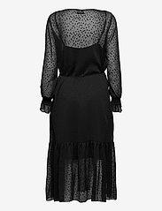 Just Female - Lula maxi dress - midi dresses - black - 1