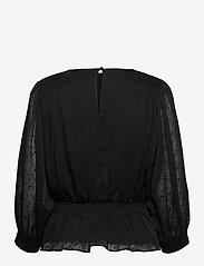 Just Female - Lula blouse - long sleeved blouses - black - 2