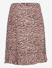 Just Female - Virginia skirt - midi skirts - sketchy ikat aop - 1
