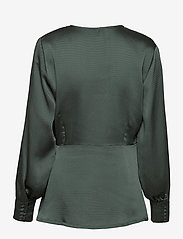 Just Female - Minnie blouse - long sleeved blouses - balsam green - 2