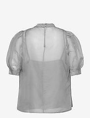 Just Female - Marissa blouse - kortärmade blusar - ballad blue - 2