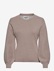 Just Female - Palma knit sweater - sweaters - fungi - 1