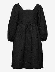 Just Female - Toda dress - vardagsklänningar - black - 2