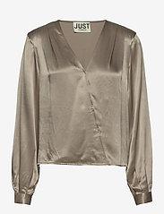 Just Female - Delta blouse - long sleeved blouses - fungi - 1
