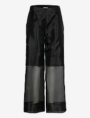Just Female - Cologne trousers - wide leg trousers - black - 1