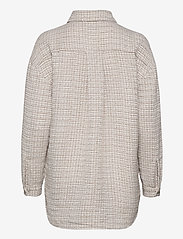 Just Female - Metz shirt - overshirts - ice grey stone mix - 2