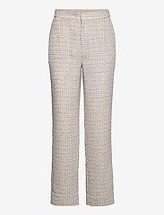 Just Female - Metz trousers - raka byxor - ice grey stone mix - 1