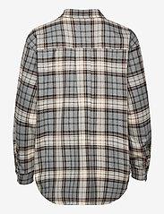 Just Female - Pisa Shirt - clothing - stone check - 2