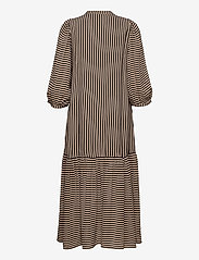 Just Female - Colorado maxi dress - maxi dresses - cobblestone stripe - 2