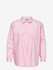 Just Female - Dallas shirt - long-sleeved shirts - pink mist - 1