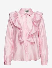Just Female - Cholet shirt - long-sleeved shirts - pink mist - 1