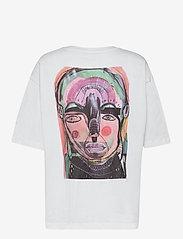 Just Female - Sjulle tee - t-shirt & tops - white - 2