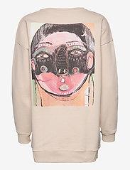 Just Female - Sjulle crewneck - sweatshirts & hoodies - pumice stone - 2