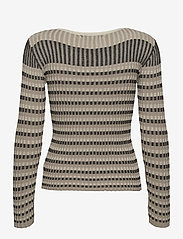 Just Female - Lazio knit - knitted tops - nature stripe - 2