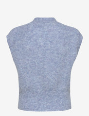 Just Female - Girona knit vest - knitted vests - blue - 2