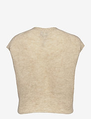 Just Female - Girona knit vest - knitted vests - pumice stone - 2