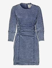 Just Female - Glacier denim dress - bodycon dresses - blue snow - 1