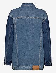 Just Female - Thunder jacket 0104 - denim jackets - middle blue mix - 2