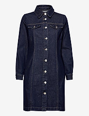 Just Female - Mist dress 0103 - shirt dresses - blue rinse - 1