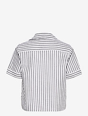 Just Female - Rialto blouse - short-sleeved blouses - pavement stripe - 2