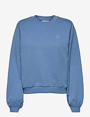Just Female - Henderson crewneck - sweatshirts & hoodies - silver lake blue - 1
