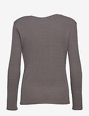 Just Female - Rancho ls tee - t-shirt & tops - pavement - 2
