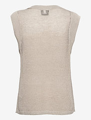 Just Female - Omaha knit top - knitted vests - off white - 2