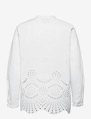 Just Female - Rise shirt - long-sleeved shirts - white - 2