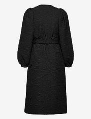 Just Female - Toda wrap dress - everyday dresses - black - 2