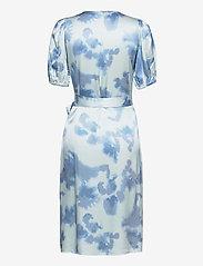 Just Female - Laguni wrap dress - summer dresses - silver lake blue - 2