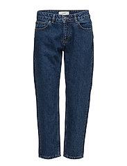 Rock jeans - Mid blue denim