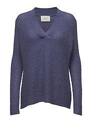 Potter cuff knit - TWILIGT PURPLE