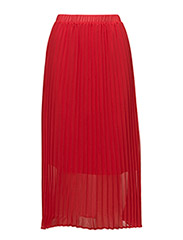 Moe pleated skirt - RIBBON RED