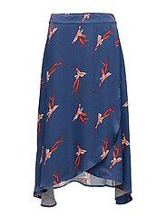 Kuma skirt - FLEUR TANGO AOP