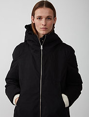 Just Female - Steal coat - padded coats - black - 7