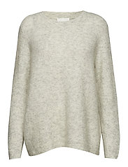 Chiba knit - LIGHT GREY MELANGE