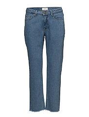 Rock ripped jeans - LIGHT BLUE DENIM