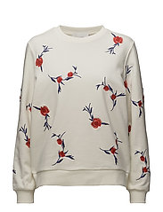 Grace sweat shirt - Wake embroidery