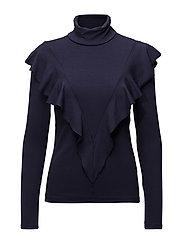 Kale blouse - ECLIPSE BLUE